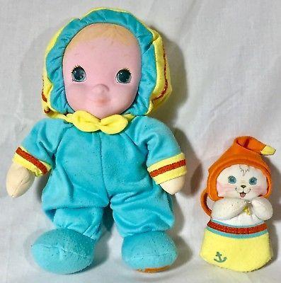 Vintage Playskool Jammie Pies Middy Splash Lovey Security Doll Pie Hallmark Playskool Preschool Toys Soft Dolls