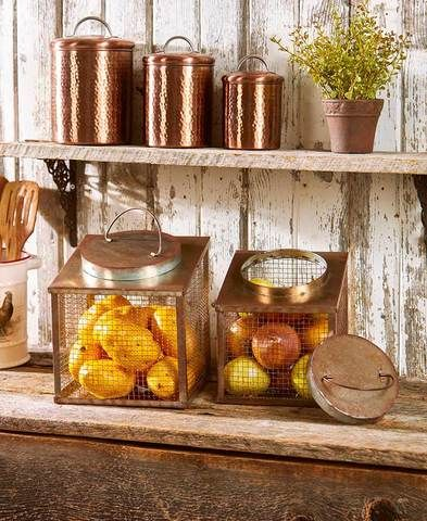 Kitchen Countertop Rustic Country Decorative Fruit Vegetable