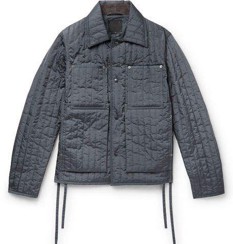 Craig Green Quilted Shell Jacket Jackets Men Fashion Mens Designer Fashion Jackets
