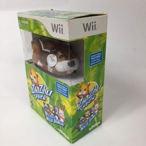 Zhuzhu Pets Nintendo Wii Video Game Mercari In 2020 Wii Video Games Wii Nintendo Wii