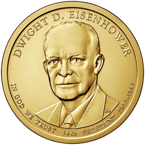 2016 P Mint Gerald R Ford Presidential Golden Dollar BU Gold $1 UNC Business