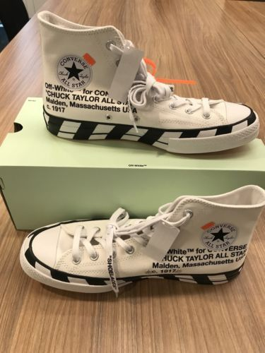 Off White Converse Chuck 70 Size 10
