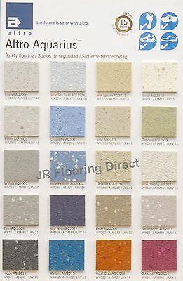 Altro Aquarius Wetroom Shower Flooring Anti Slip Vinyl Floor All Colours Ebay In 2020 Vinyl Flooring Shabby Chic Lounge Flooring