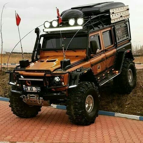 Modified Land Rover Range Rover Tuning Styling Pictures From