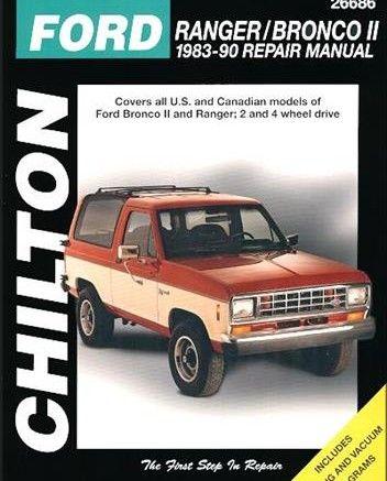 Free Download Ford Ranger Bronco Ii 1983 1990 Service Repair Manual Pdf Scr1 Bronco Ii Repair Manuals Ford Bronco Ii