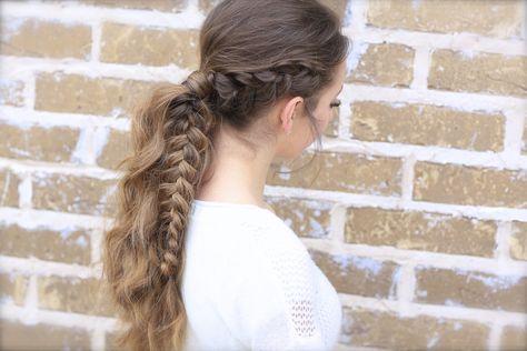 The Viking Braid...one of my new favs!  #hairstyles #CuteGirlsHairstyles #CuteGirlHair #hairstyle #braid #braids #boho #DIY #coachella