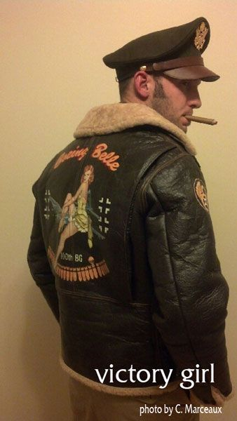 Victory Girl Nose Art is your source for custom nose art designs on decals and leather jackets for hobbyists, memorial functions, custom vehicles, whatever!