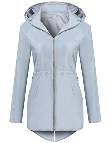 a41374d8b UNibelle Women's Lightweight Waterproof Rain Jacket Active Outdoor ...
