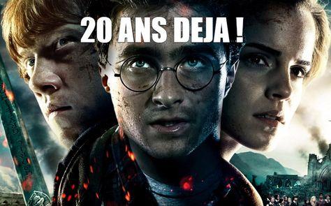 Le Premier Livre De Harry Poter Est Sorti Il Y A 20 Ans