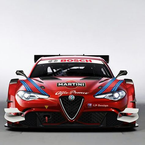 Render of a hypothetical DTM car based on the new Giulia. Really hope this becomes a thing.