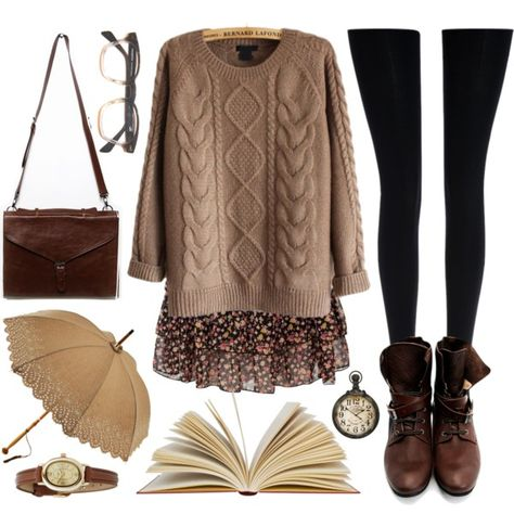 This time we are going to speak about winter hipster outfits for girls. This clothing style is already a Fall Winter Outfits, Autumn Winter Fashion, Winter Wear, Mode Outfits, Casual Outfits, Geek Chic Outfits, Nerd Outfits, Fashion Outfits, Winter Hipster