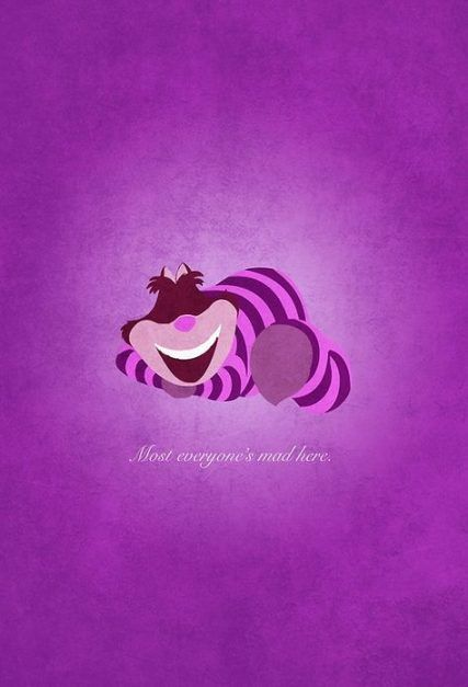 New Iphone Wallpaper Quotes Disney Cheshire Cat 40 Ideas Disney Alice Wonderland Alice In Wonderland