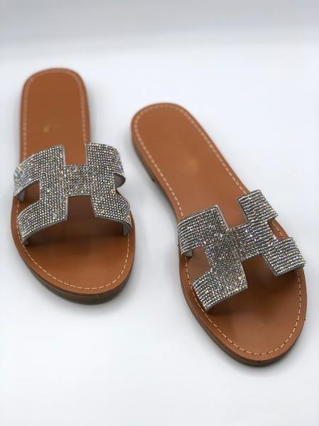 Dixie Sparkle Sandal - Silver
