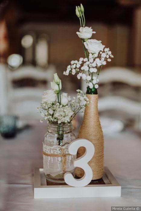 15 Imagenes de centro de mesa para casamiento