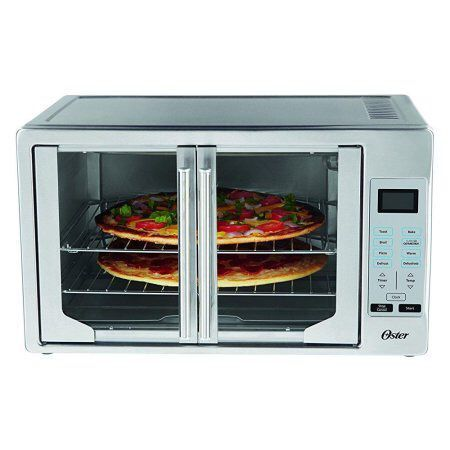 Oster Digital French Door Oven Stainless Steel Appliances In