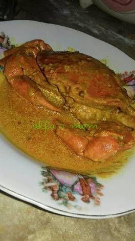 Resep Kare Kepiting Gurih Oleh Anita Rahman Resep Resep Kepiting Resep Masakan