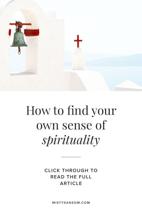 how to find spirituality