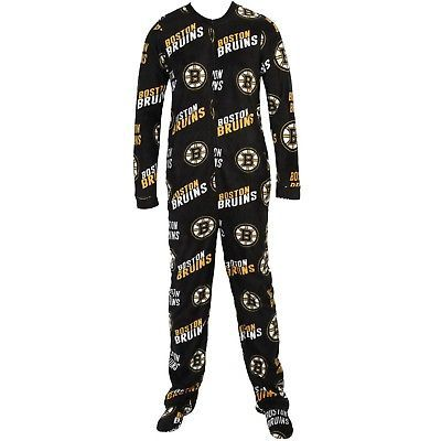 College Concepts Pittsburgh Penguins Mens Black Poly Microfleece Wildcard Pajama Pants
