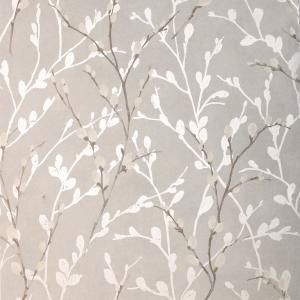 Arthouse Willow Grey Paper Strippable Roll Covers 56 Sq Ft 692900 The Home Depot Grey Wallpaper Metallic Wallpaper Wallpaper Roll