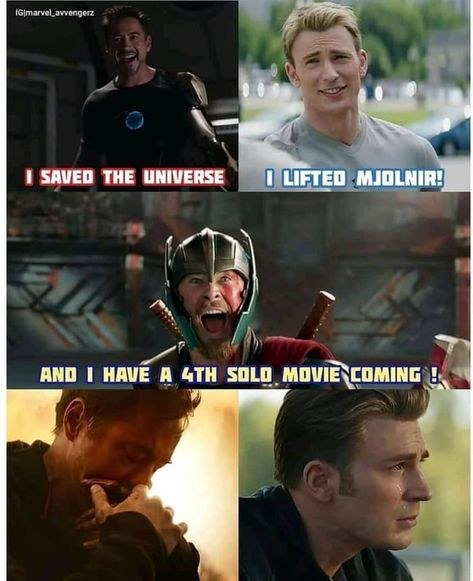 Because Thor is God!!