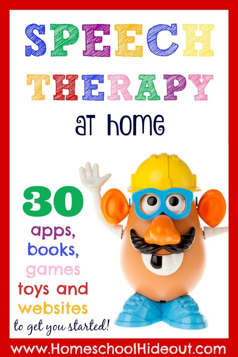 I Do Speech Therapy at Home? You CAN do speech therapy at home! Armed with this list of 30 resources, you can get started today.You CAN do speech therapy at home! Armed with this list of 30 resources, you can get started today. Speech Therapy Activities, Speech Language Pathology, Language Activities, Speech And Language, Articulation Activities, Play Therapy, Speach Therapy For Toddlers, Speech Therapy Toddler, Therapy Ideas