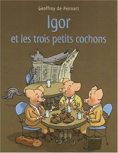Les Trois Petits Cochons Gs : trois, petits, cochons, Épinglé, Maman, Apprendre