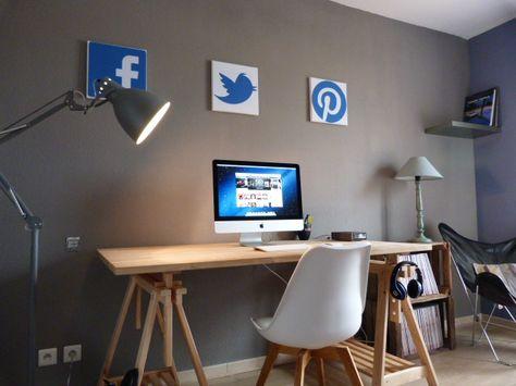 Workspace Special Apple Kit Tréteaux Conforama Planche