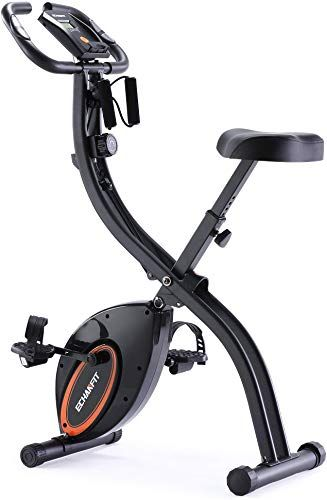 New Echanfit Indoor Cycling Bike Folding Magnetic Exercise Upright