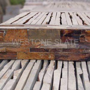 Multicolor Ledgestone Autumn Rose Stacked Stone Westone Stone Wall Cladding Stacked Stone Stone Veneer Wall