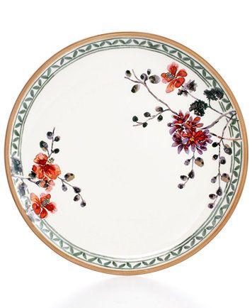 Artesano Provencal Verdure Dinner Plate Doll House Wallpaper Plates Backdrops
