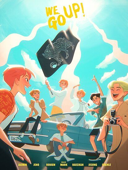 We Go Up Photographic Print By Chalseu Nct Nct Dream Fan Art