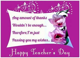 Image Result For Happy Teachers Day Card Teachers Day Wishes Teachers Day Greeting Card Happy Teachers Day