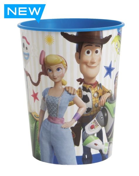 Disney Toy Story 4 Movie Plastic Stadium Party Favor Cup