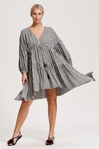 Bohemian Style - Black and White Dresses are BoHo Amazing - | Plus ...