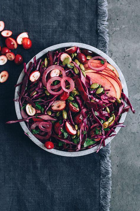 christmas Sauerkraut salad with...