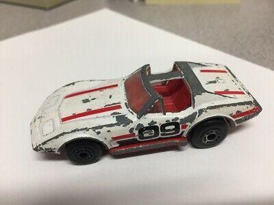 Matchbox 1979 Chevy Corvette White Red Superfast Diecast Car In 2020 Diecast Cars Diecast Chevy Corvette