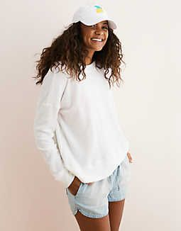 Aerie Beach Fleece In 2019 Closet Dreams Ae Jeans