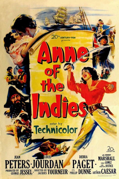 Anne of the Indies. 1951