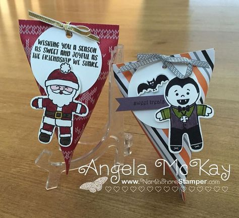 North Shore Stamper: Cookie Cutter Christmas Meets Cookie Cutter Halloween!