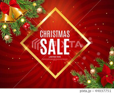 Christmas And New Year Sale Background Discount Coupon Template Vector Illustration Pixta의 크리스마스 컬렉션 크리스마스 판매 일러스트 벡터 픽스타 크리스마스 포토샵 사진