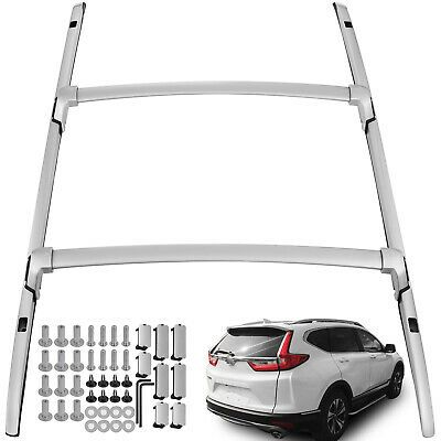 Fit Honda Crv Cr V 2017 2018 2019 20 Roof Rack Side Rail Cross Bar Kit 4 Pcs In 2020 Roof Rack Honda Crv Cars Trucks
