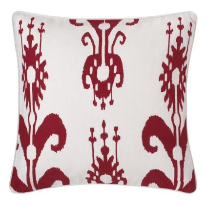 Leaping Horse Hand Painted Silk Cushion Cover