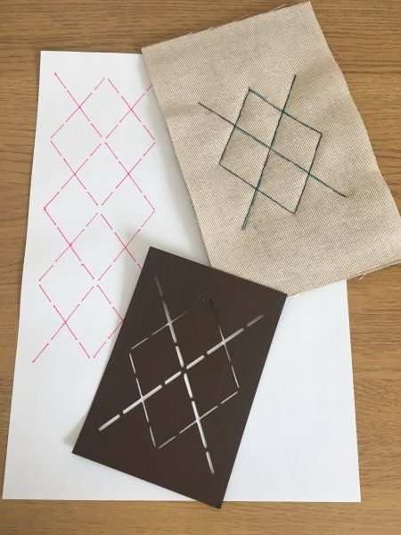 How To Make Quilt Stencils with ScanNCut Canvas | scan n cut