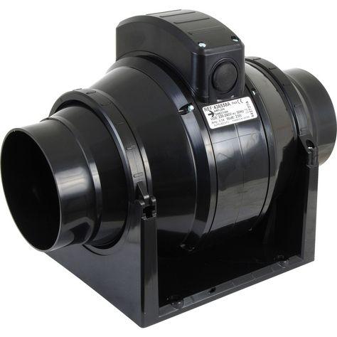Airvent 100mm Mixed Flow Inline Extractor Fan Timer Bathroom Extractor Fan Extractor Fans Bathroom Extractor