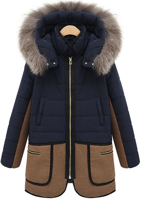 Shop Blue Faux Fur Hooded Zipper Pockets Coat online. Sheinside offers Blue Faux Fur Hooded Zipper Pockets Coat & more to fit your fashionable needs. Free Shipping Worldwide!