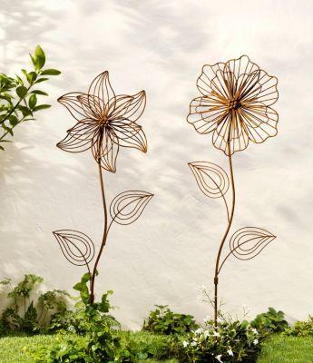 Gartenstecker Blume 2er Set Jetzt Bei Weltbild At Bestellen Gartenstecker Garten Blumen