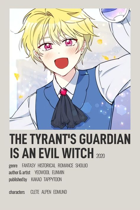 The Tyrant's Guardian is an Evil Witch Minimalist Poster