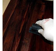 Faux Bois Or Wood Paint Technique