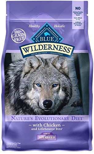 Blue Buffalo Wilderness High Protein Grain Free Natural Adult Toy