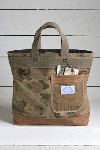 era Cloud Camo Carryall - era Cloud Camo Carryallbrp classfirstletterHelloWelcome to the - Sacs Tote Bags, Tote Purse, Canvas Tote Bags, Handmade Handbags, Handmade Bags, Handmade Leather, Sacs Design, Camo Purse, Denim Bag